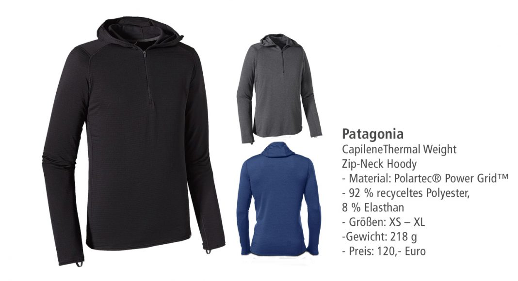 Patagonia: Capilene Thermal Weight Zip Hoody