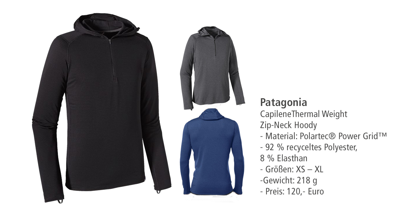 Patagonia: Capilene Thermal Weight Zip Hoody