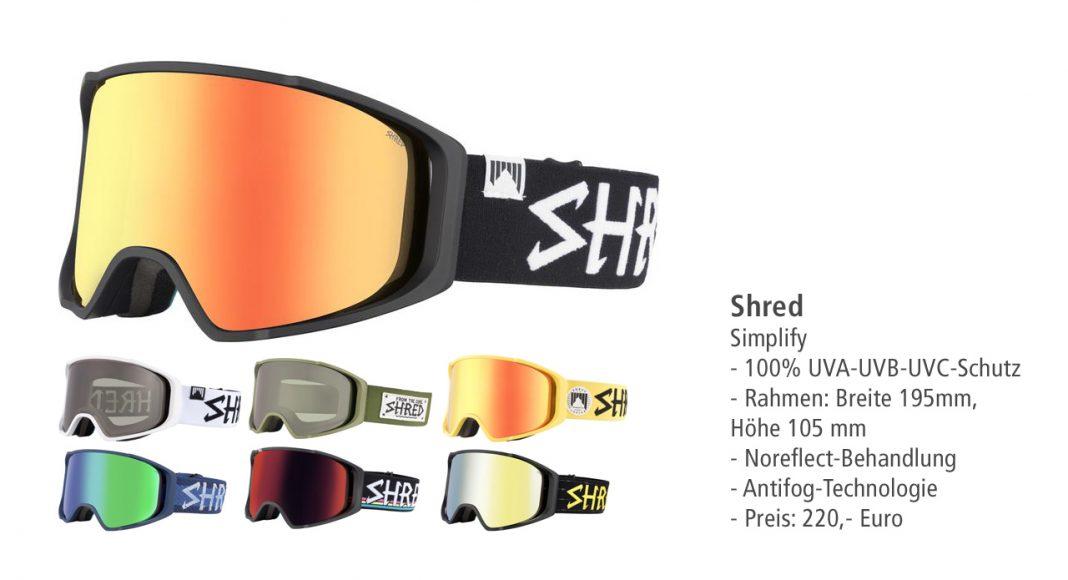 Shred Optics: Simplify Goggle