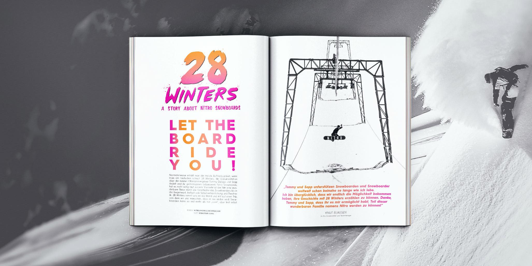 Wir haben uns die Dokumentation über Nitro Snowboards genauer angeschaut