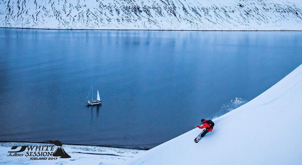 Ohne Schiff wären diese Hänge nur schwer zu erreichen |©Julbo/Klaus Polzer
