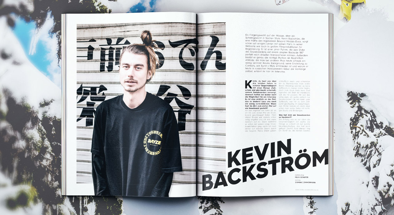 Kevin Backström im Interview