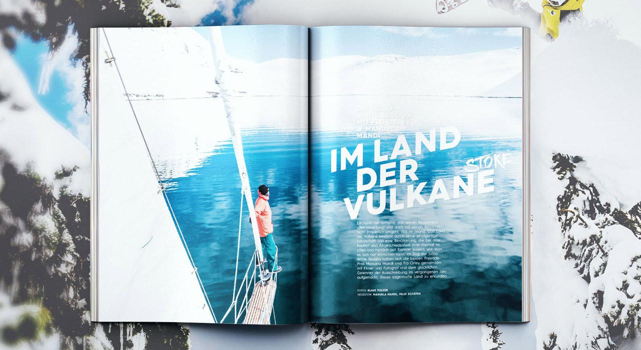 Mit den Julbo White Sessions nach Island