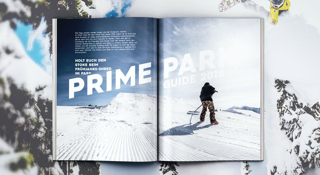 Auf 34 Seiten stellen wir euch einige der spannendsten Parks des Alpenraums vor!