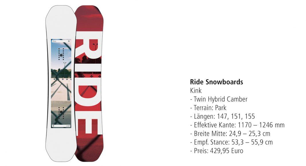 Ride Snowboards: Kink
