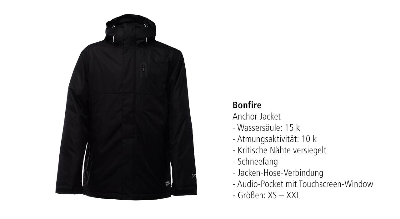 Bonfire Anchor Jacket