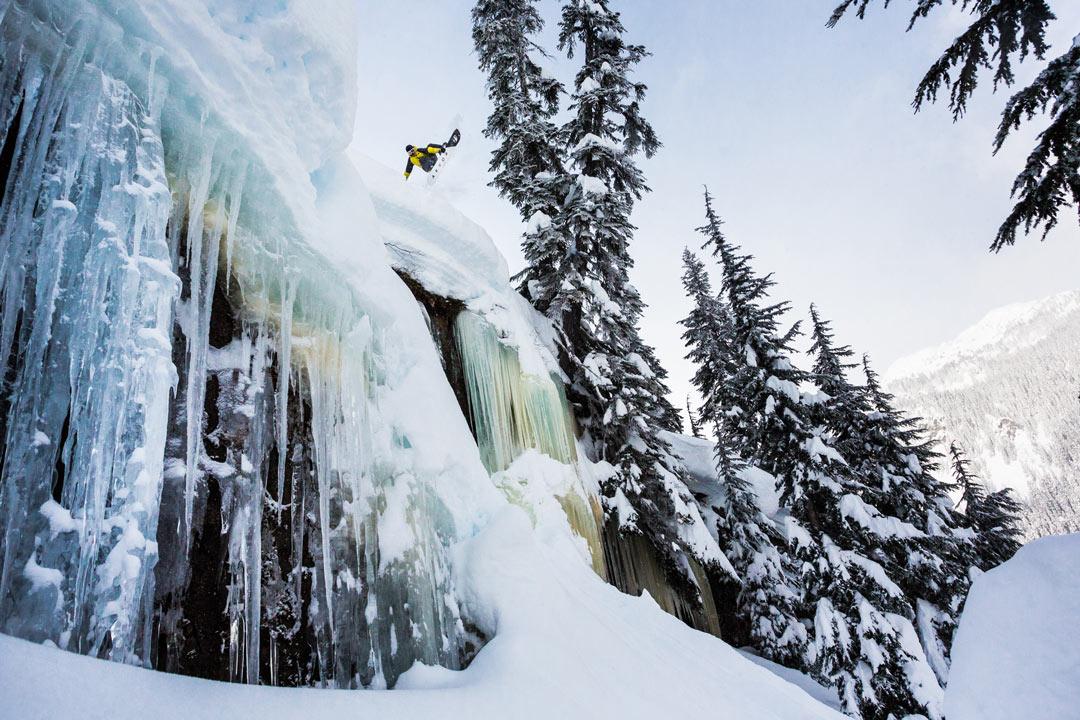 Dieses Foto von Charles Reid in Whistler, British Columbia, brachte Erin eine X Games-Goldmedaille ein |©Erin Hogue
