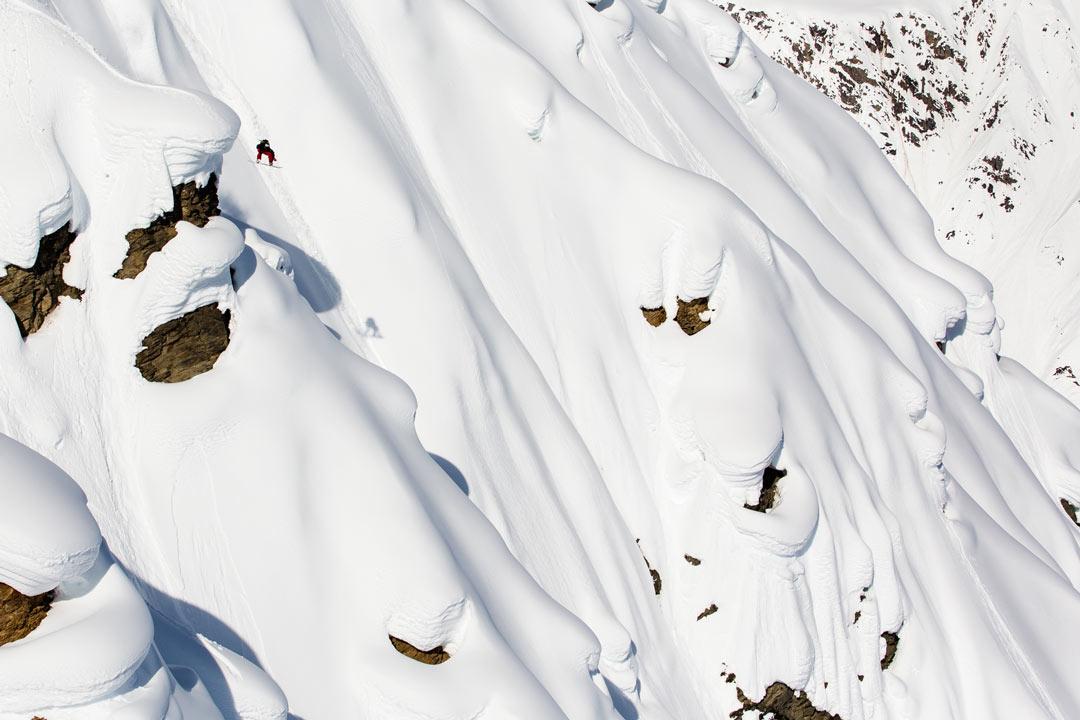 Nicolas Müller in Haines, Alaska |©Erin Hogue
