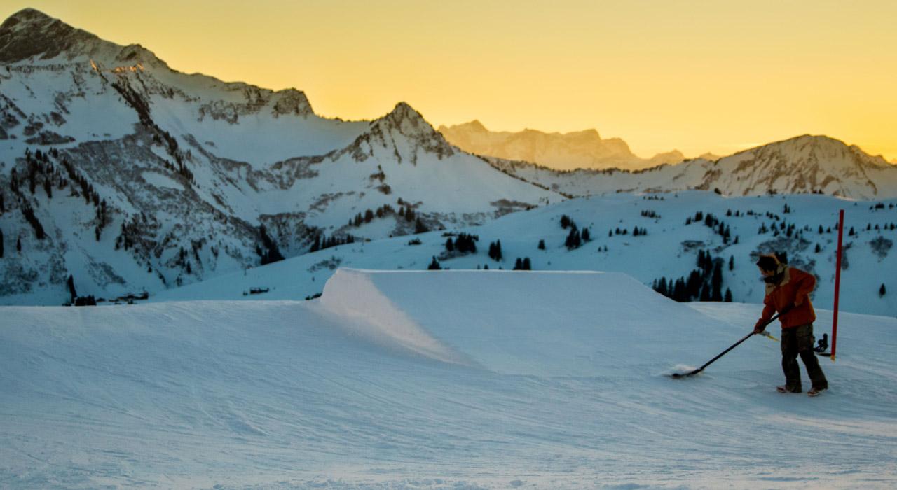 © Snowpark Damüls