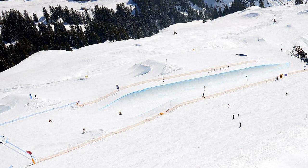 Halfpipe |©Snowpark Grindelwald-First