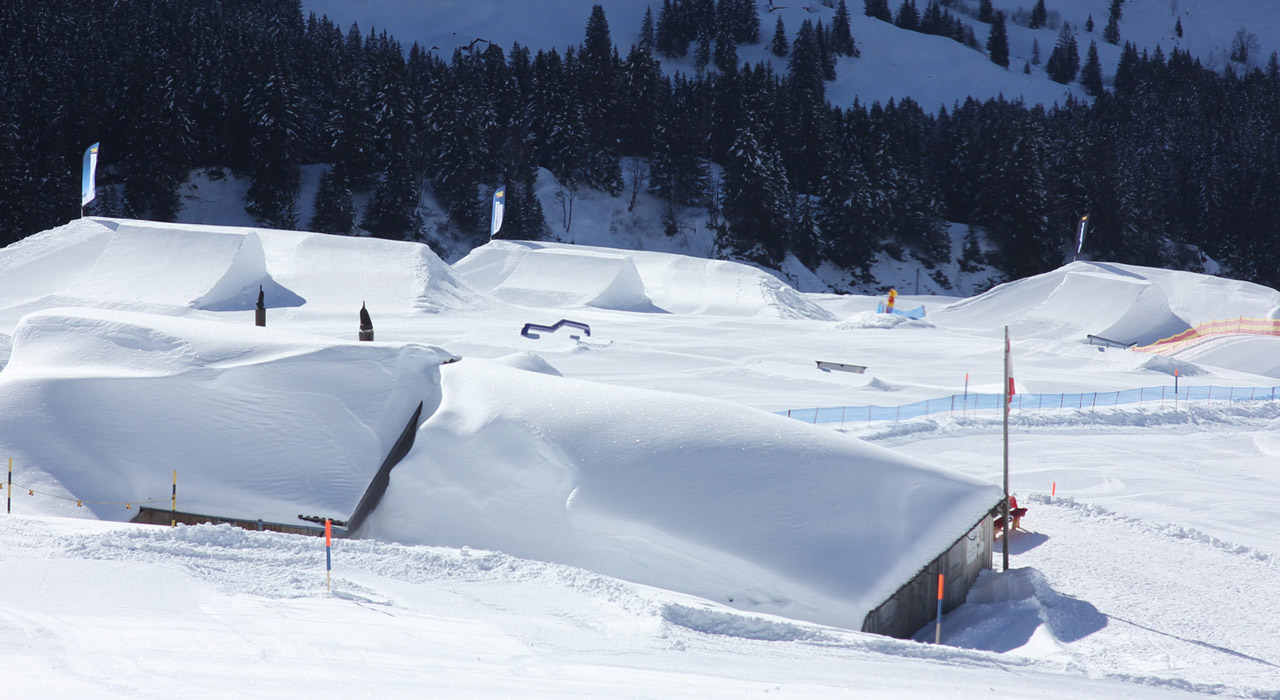 Advanced Park | © Snowpark Grindelwald-First