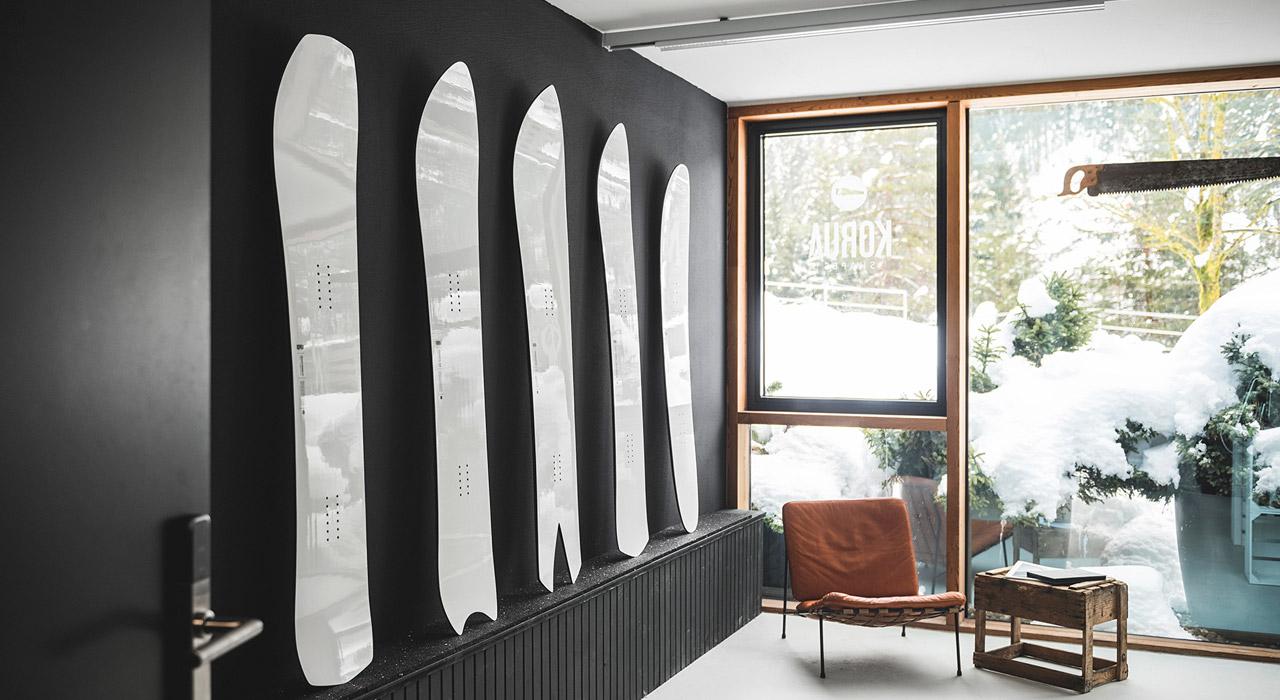Der Showroom von Korus Shapes |©Korua
