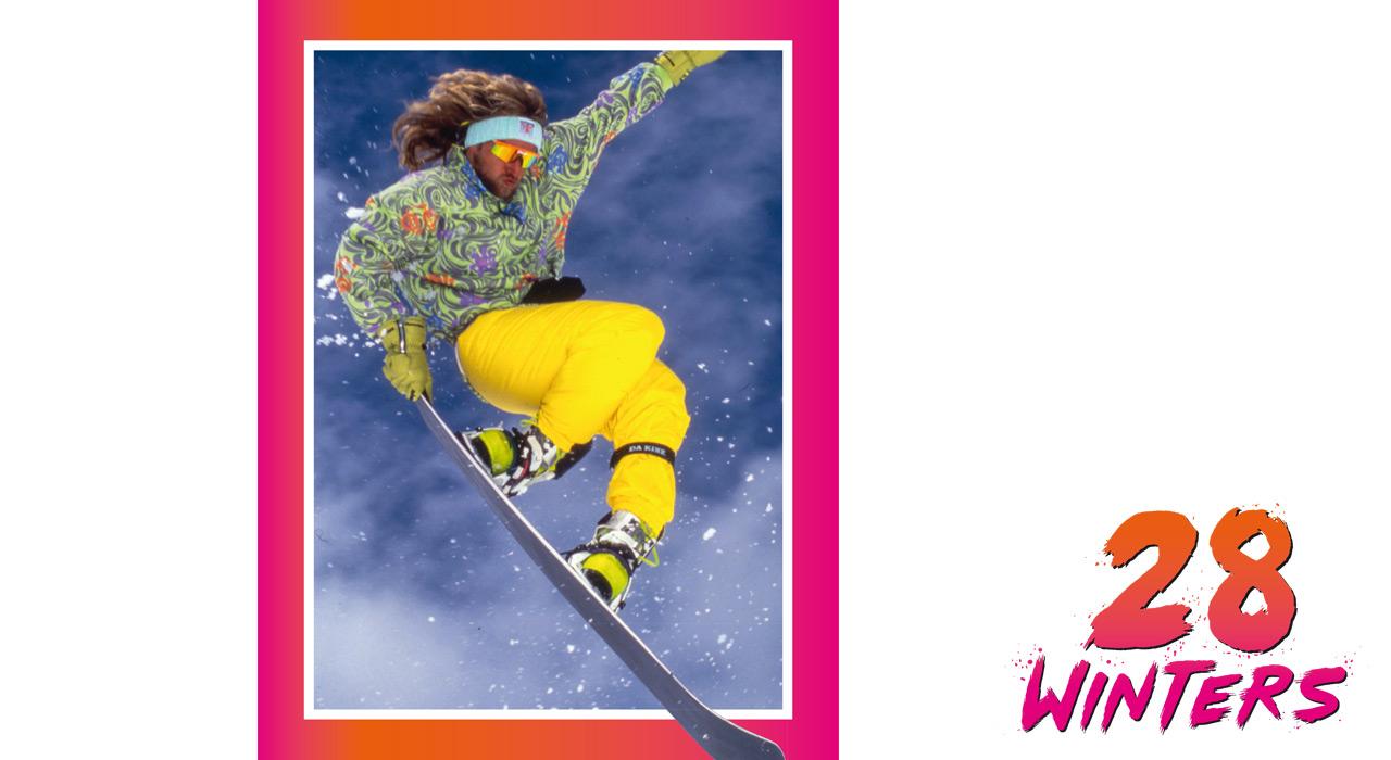 Cool oder uncool ist völlig egal, denn in den 1980ern ging es um den Spaß: Nitro-Gründer Tommy Delago |©Nitro