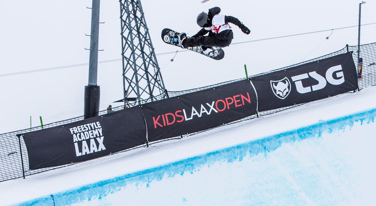 Die Kids Laax Open sind der perfekte Schauplatz für die vielen jungen Talente |©Laax/Philipp Ruggli