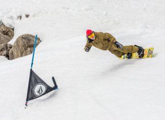 Volcom Banked Slalom am Kitzsteinhorn