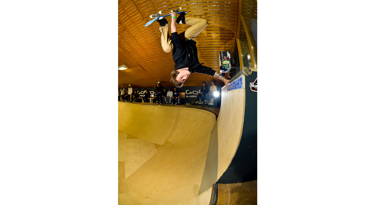 Die Bowl der Freestyle Academy in LAAX wird zum Schauplatz des TEAM TROUBLE |©LAAX