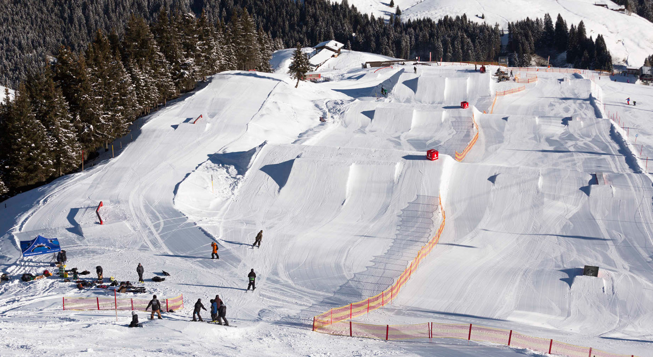 Im Snowpark Kitzbühel ist alles für euch bereit |©QParks/Roland Haschka
