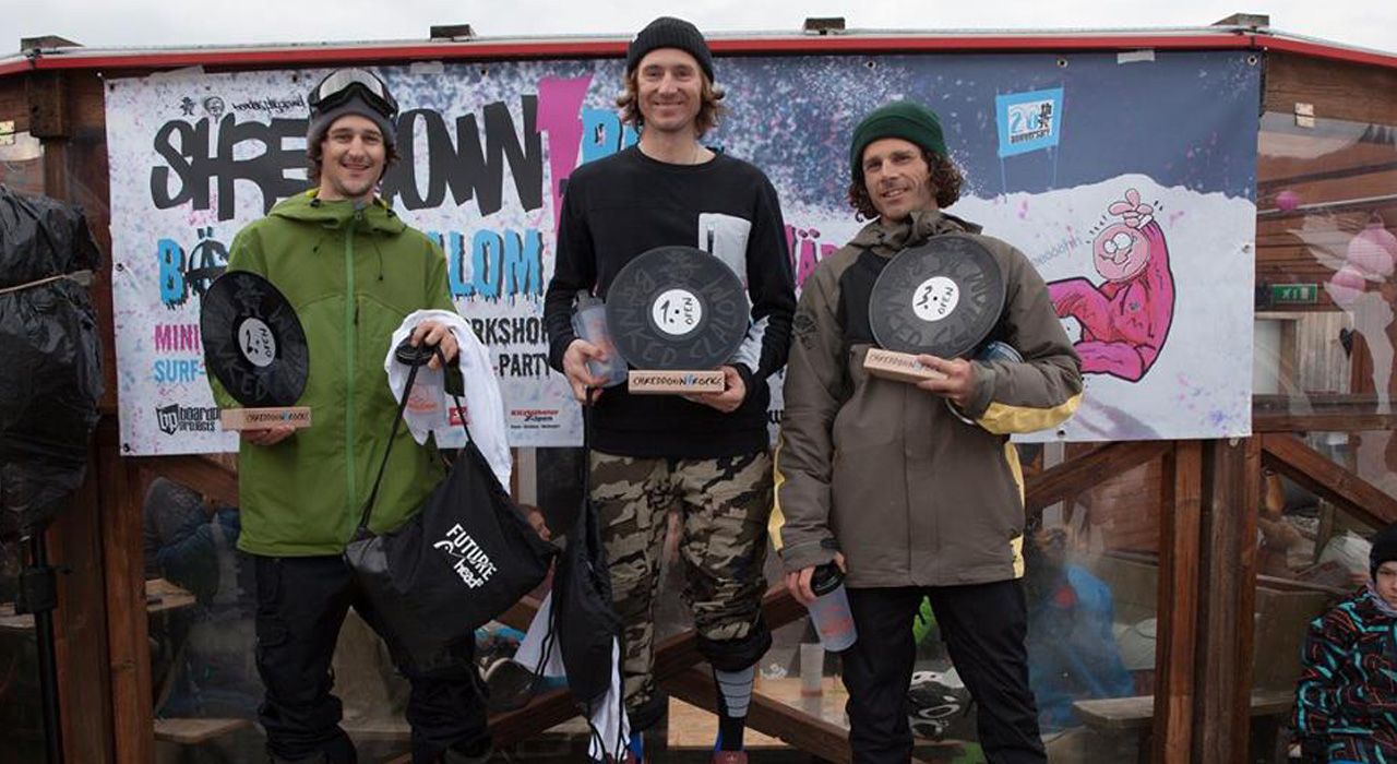 von links: Tom, Werni, Stefan | © Boardplay
