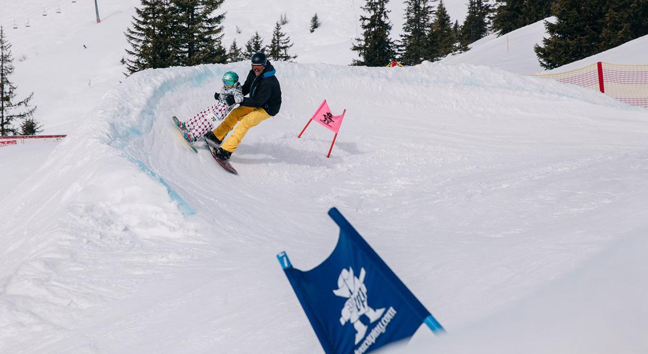 Banked Slaloms sind für alle Generationen |©Boardplay