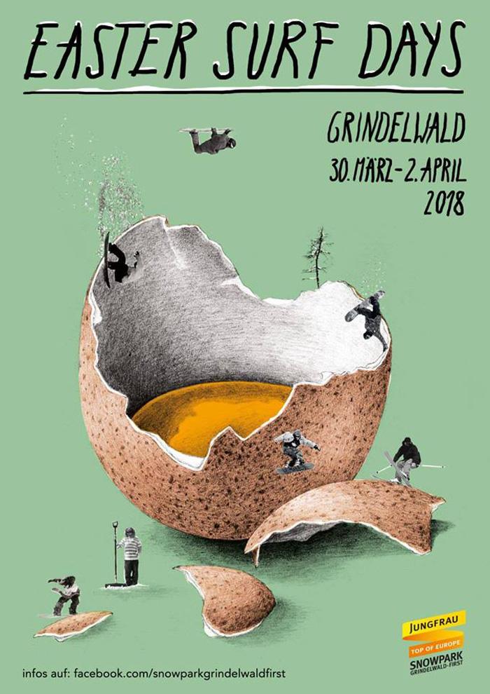 Auf zu den Surf Days nach Grindelwald!