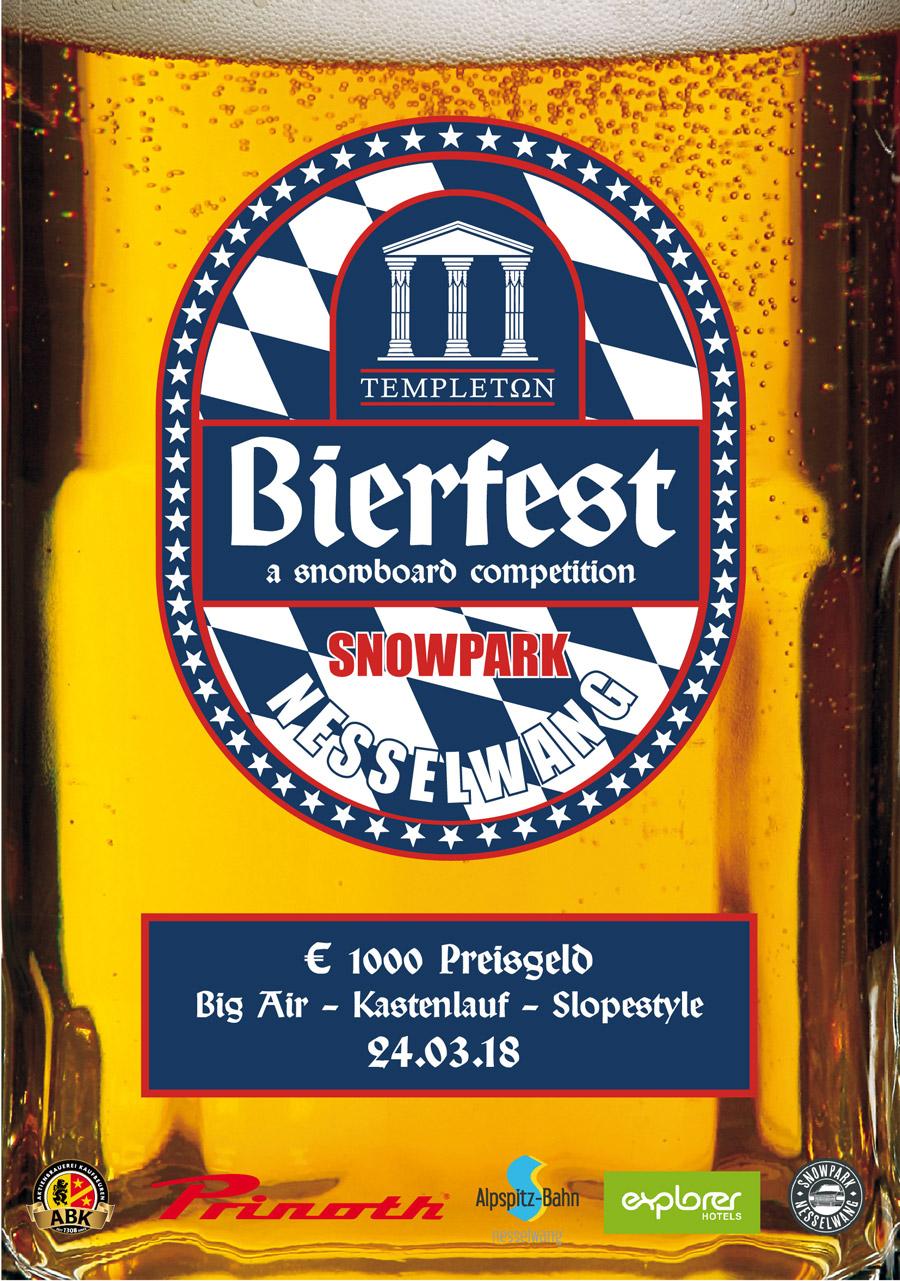 Templeton lädt zum besseren Oktoberfest in den Snowpark Nesselwang!
