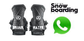 Prime Snowboarding WhatsApp-Newsletter