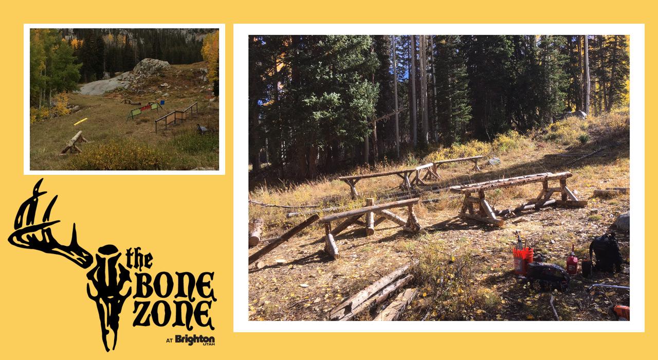 Die Bone Zone ist ein DIY-Wood-Park |©Brightonresort.com