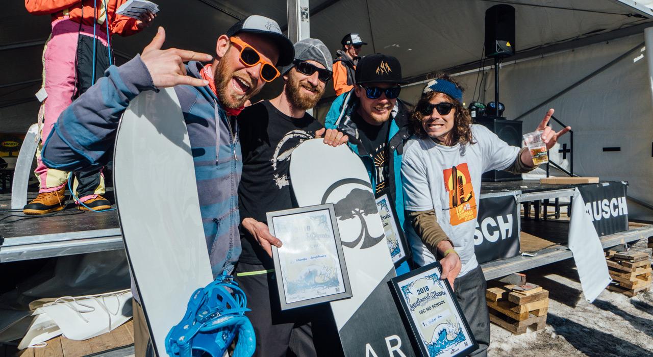 Kategorie MEN: Platz 2 Mambo Jonckheere, BEL, Platz 2 Volker Blepp, GER, Platz 1 Lukas Frei, SUI, Platz 3 Tino Edelmann, SUI |© Sam Oetiker