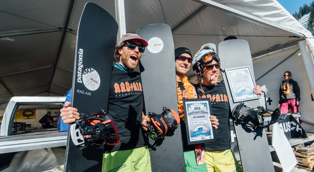 Kategorie MASTERS MEN Platz 2 Matthias Jorda, GER, Platz 1 Ralph Castelberg, SUI, Platz 3 Frans Lebsanft, GER |©Sam Oetiker