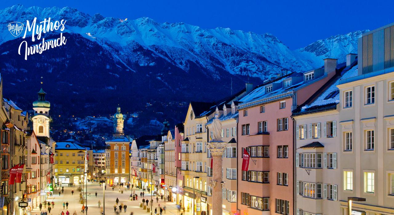 An solchen Tagen/Abenden zeigt sich Innsbruck von seiner schönsten Seite