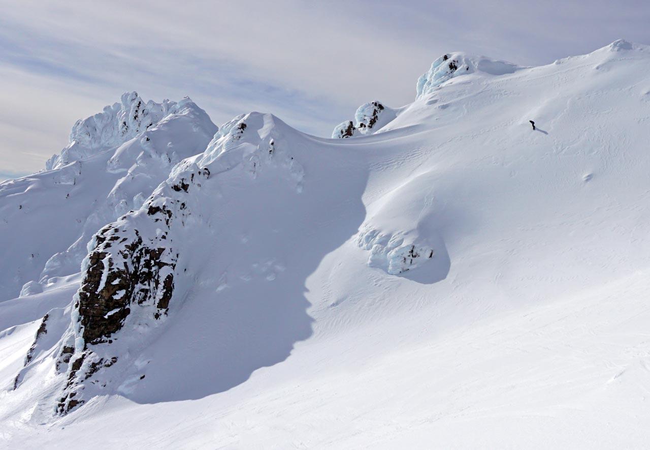 Das Icefield am Mt. Ruapehu |©Bianca Klausner