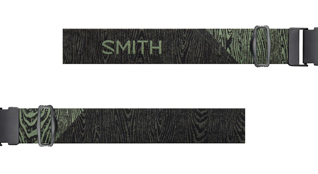 Das silikonbeschichtete breite Brillenband der I/O MAG™ |©Smith