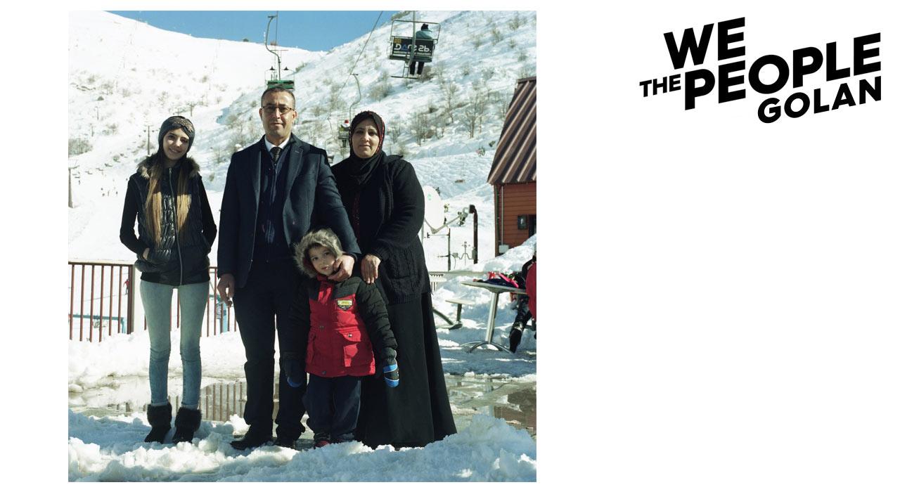 Diese muslimische Familie nutzte den sonnigen Tag, an dem wir uns begegneten, für einen Ausflug in das Skigbiet. Mit Snowboarden konnten sie wenig anfangen, waren aber neugierig zu erfahren, was uns Europäer an ihren Berg brachte. |©Rémi Petit