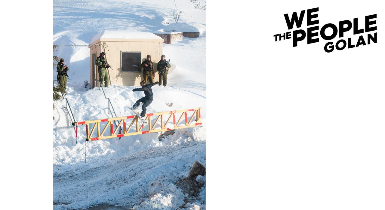 Victor Daviet cleart das wahrscheinlich sicherste Rail der Welt per Lipslide |©Rémi Petit