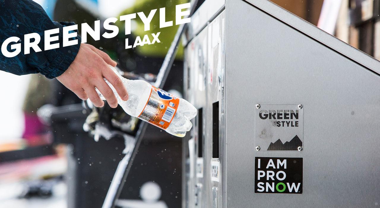 Kleine Geste, große Wirkung: Die Recycling-Stationen am Berg |©LAAX