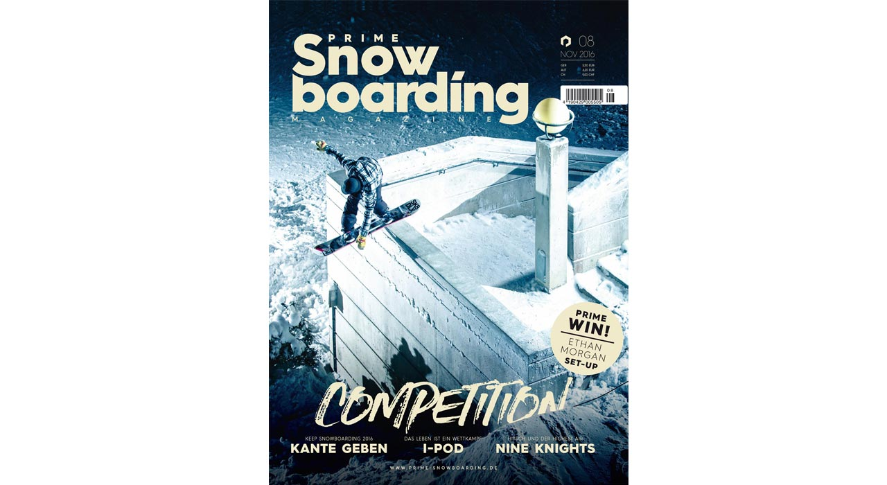 Prime Snowboarding Magazine Issue #08