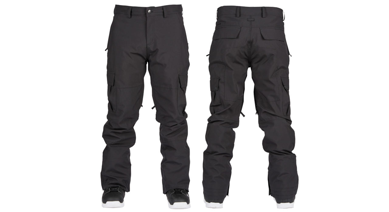 Tactical Pant (Black) | © Bonfire Outerwear