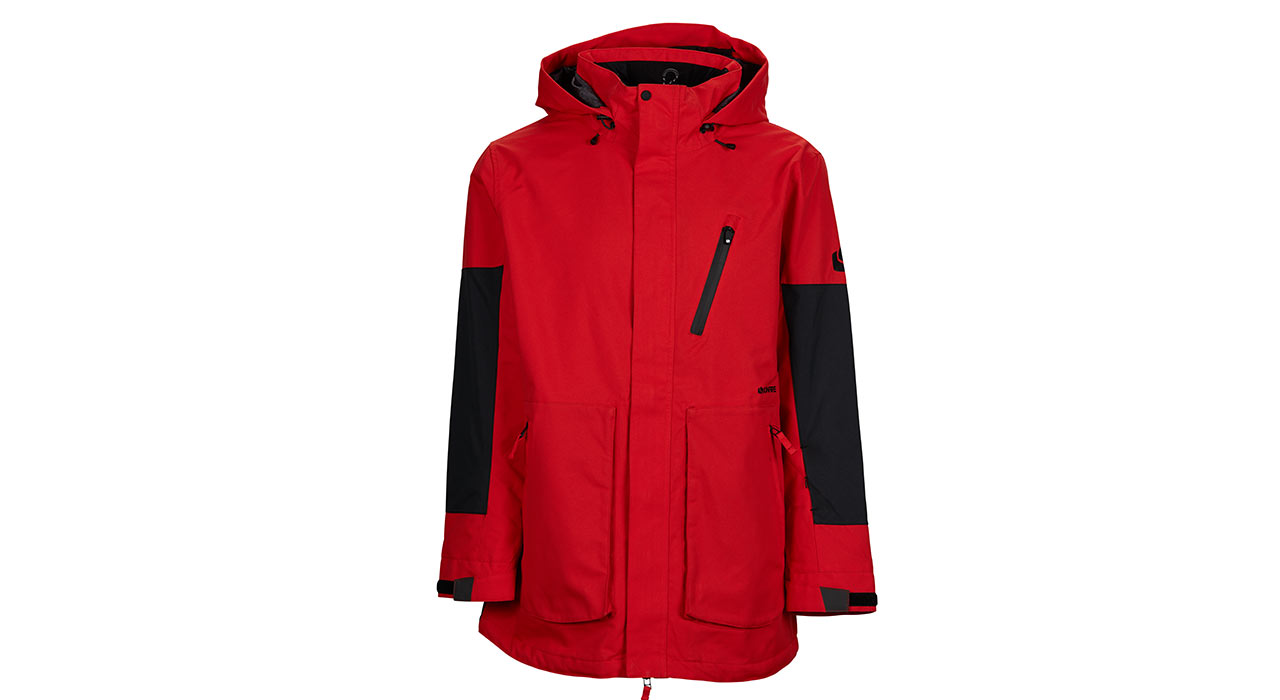 Strata Jacket (Red) | © Bonfire Outerwear