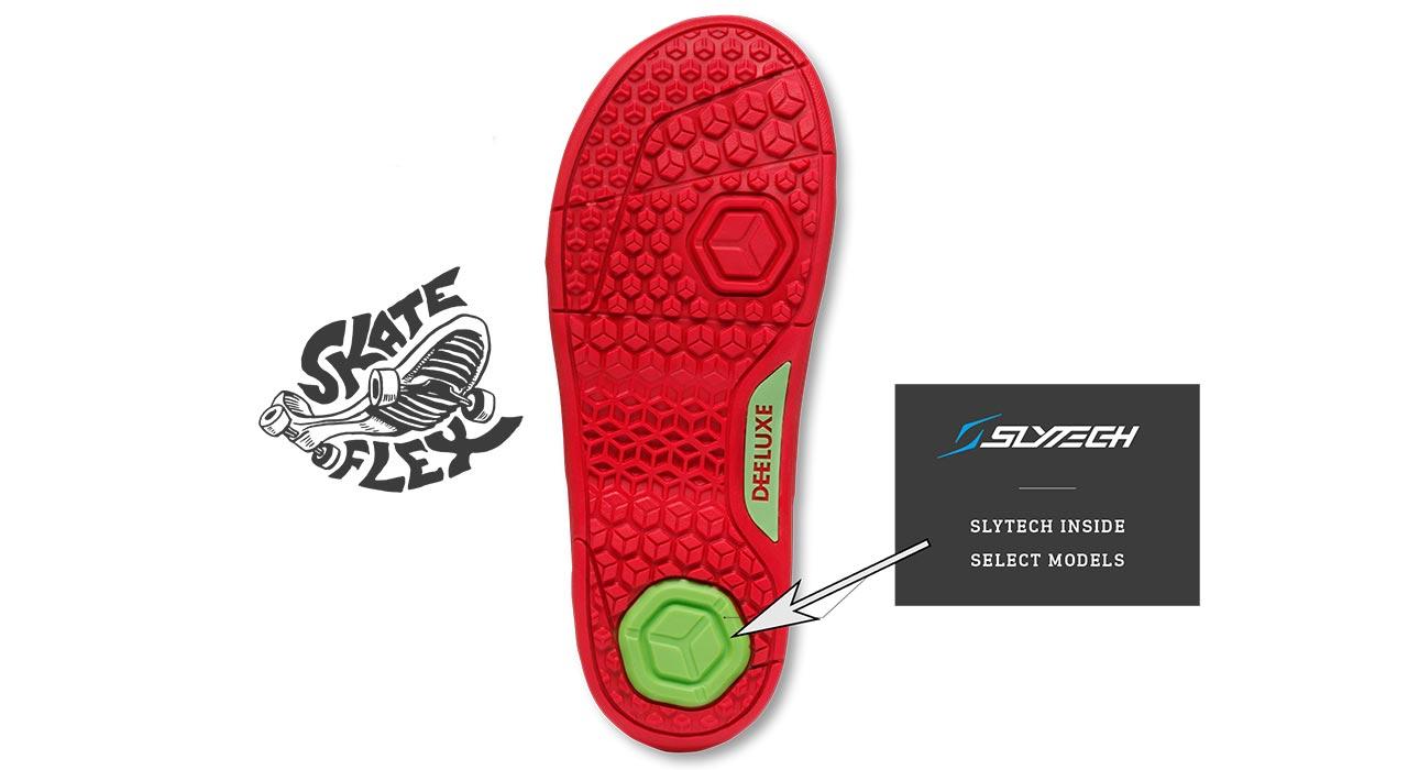 Skateflex mit Slytech-Fersendämpfung |©Deeluxe