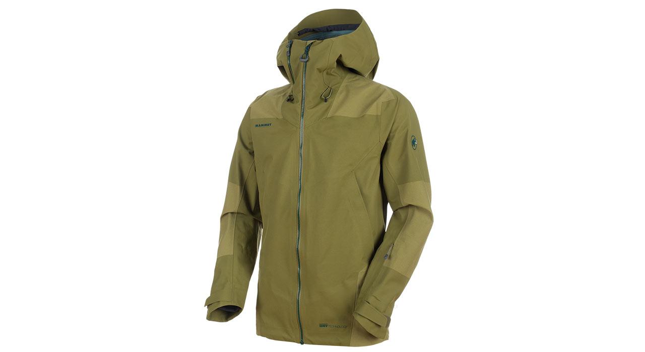 Alvier Armor HS Hooded Jacket |©Mammut