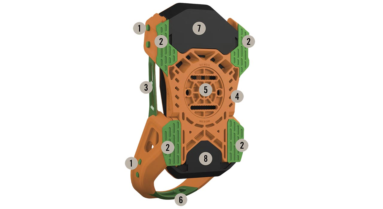 Aeron-Baseplate | © Switchback Bindings
