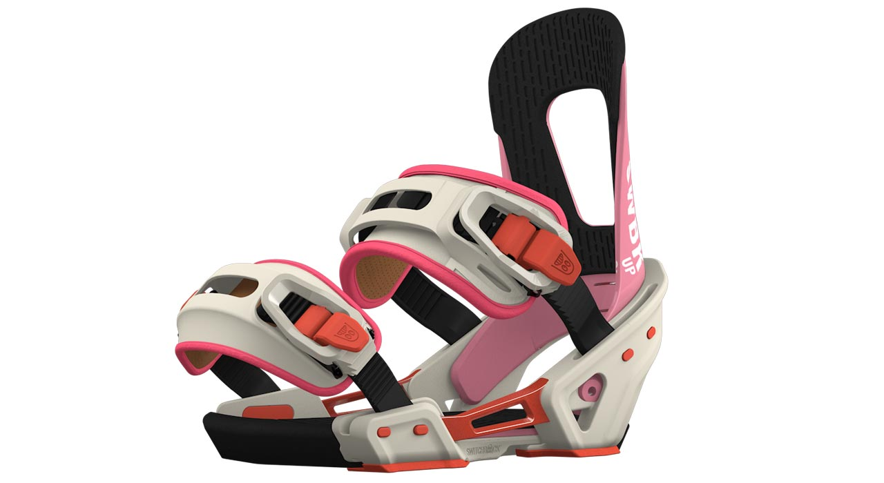 up switchback bindings prime snowboarding. Black Bedroom Furniture Sets. Home Design Ideas
