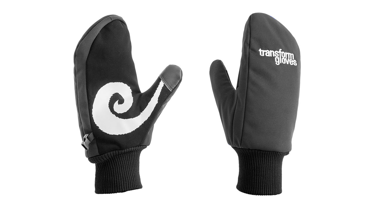 "The K.O. Mitt ""Moustache"" 