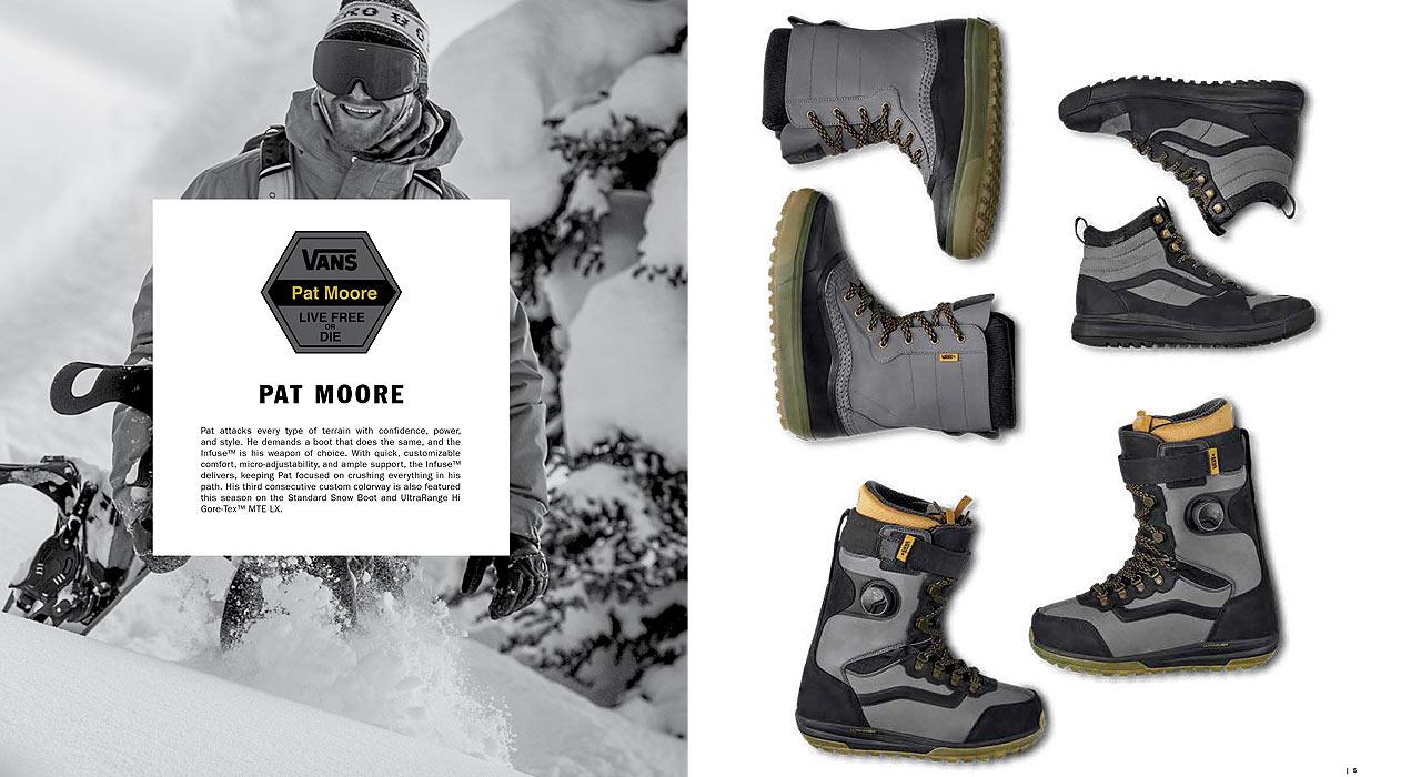 Auch der Infuse steht nicht alleine da, sondern reiht sich in eine Kollektion ein, die vom Berg bis auf die Straße den richtigen Schuh zu bieten hat |©Vans