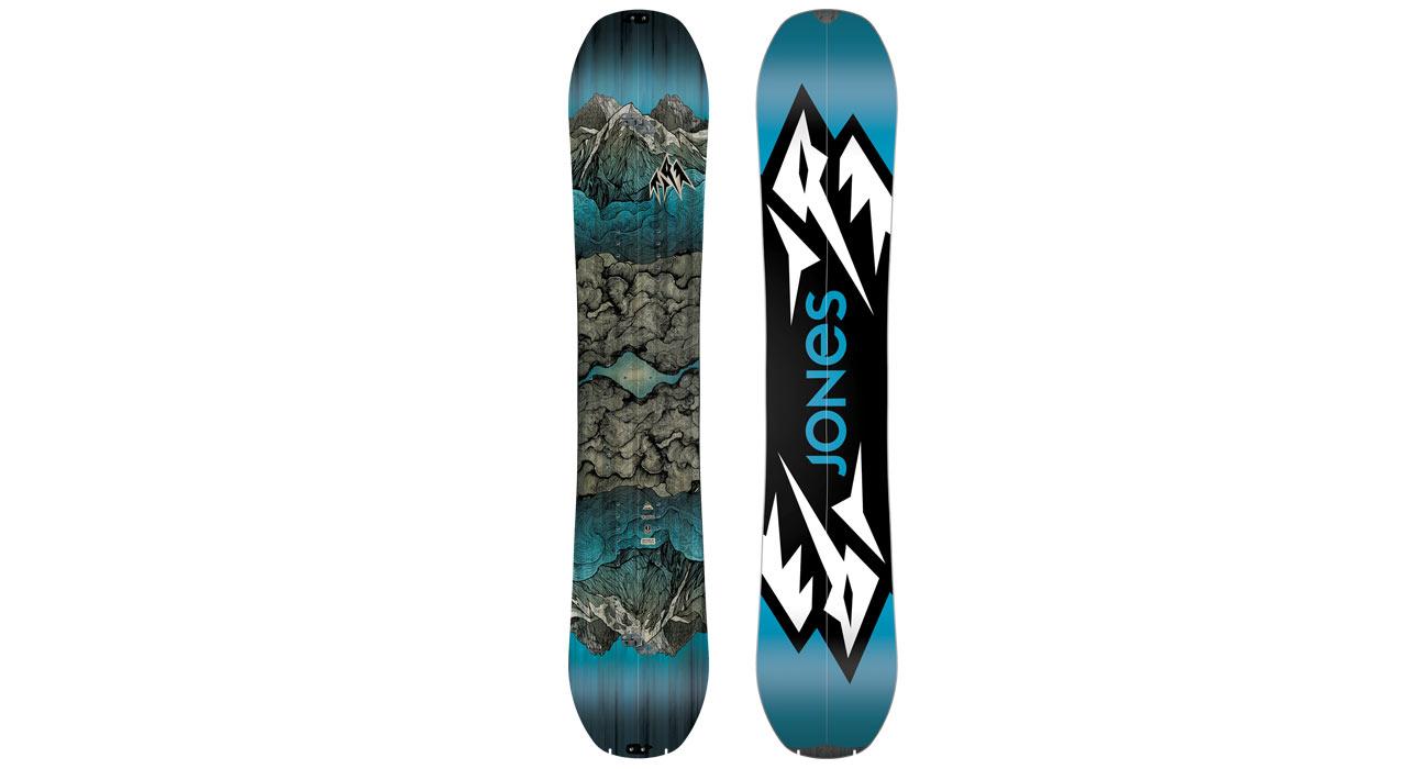 Mountain Twin Split |©Jones Snowboards