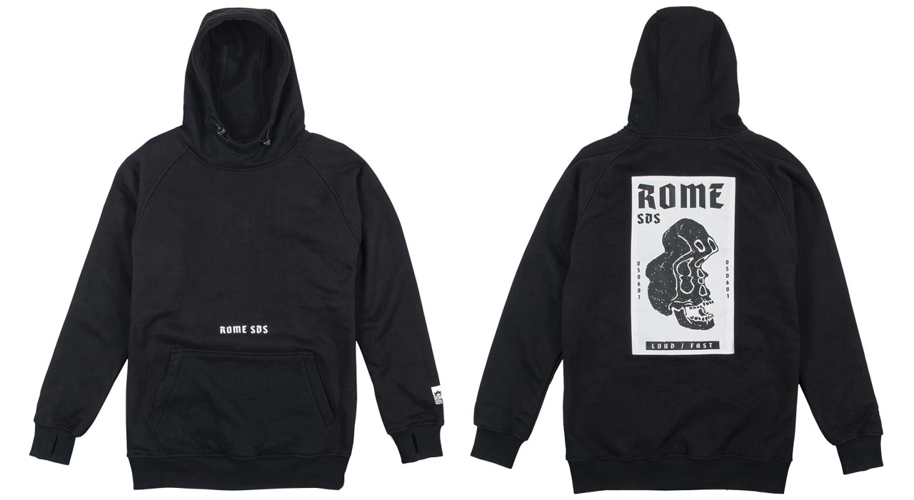 Riding Hoodie | © Rome SDS