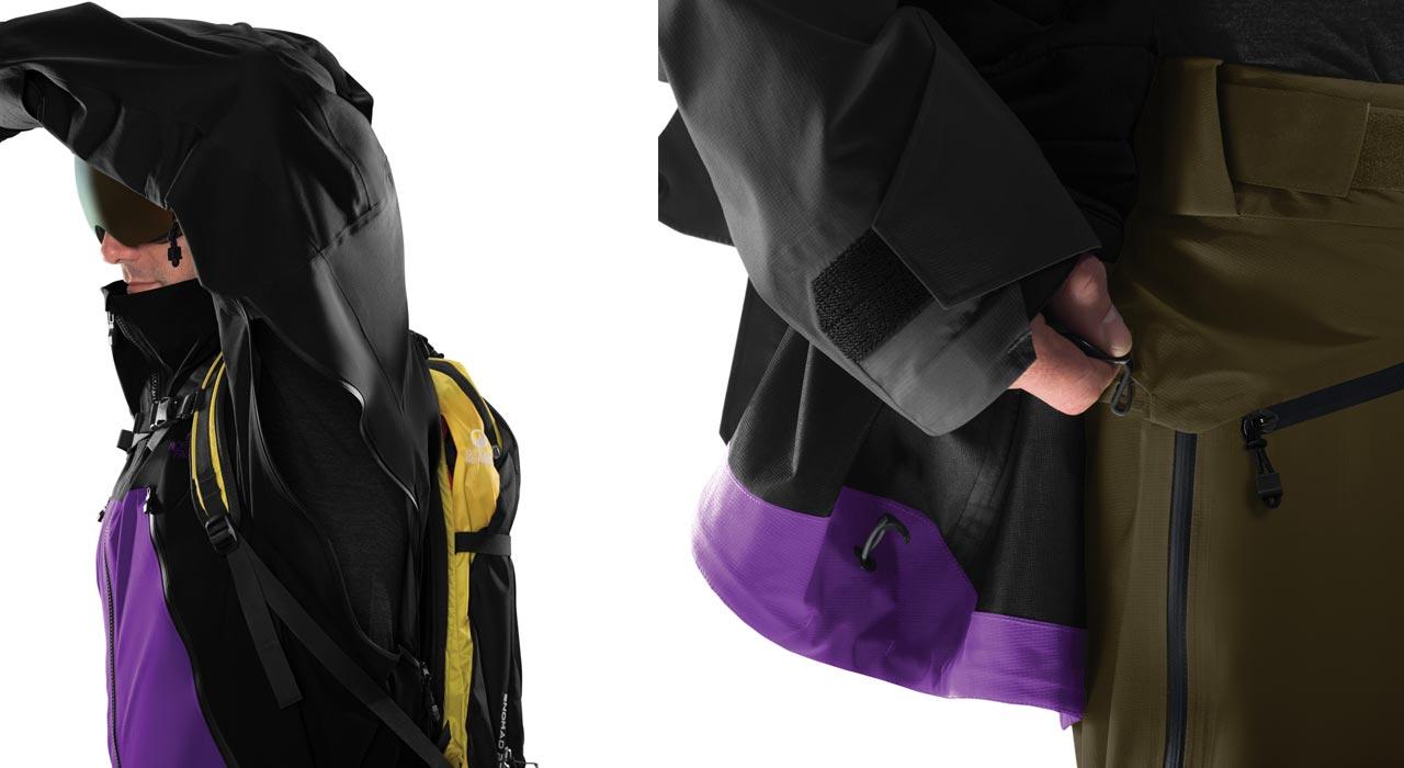 Ventilationsöffnungen und ein Jacken-Hosen-Verbindungssystem |©The North Face