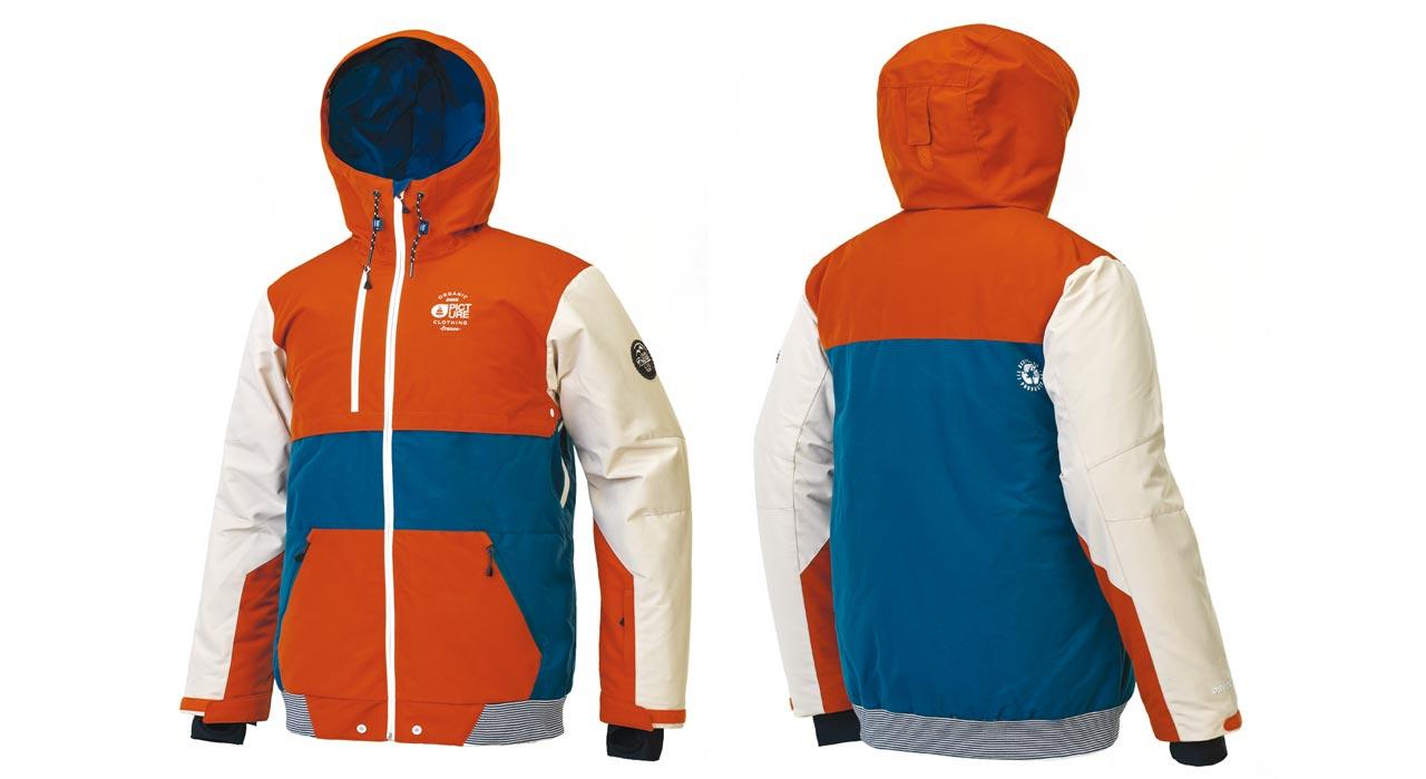 Panel Jacket, Brick |©Picture Organic Clothing