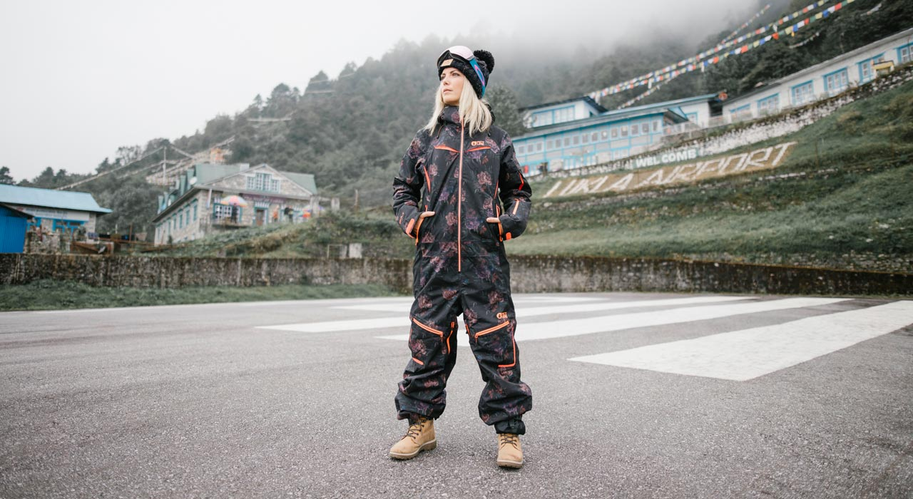 Xena Suit, Flower Print |©Picture Organic Clothing