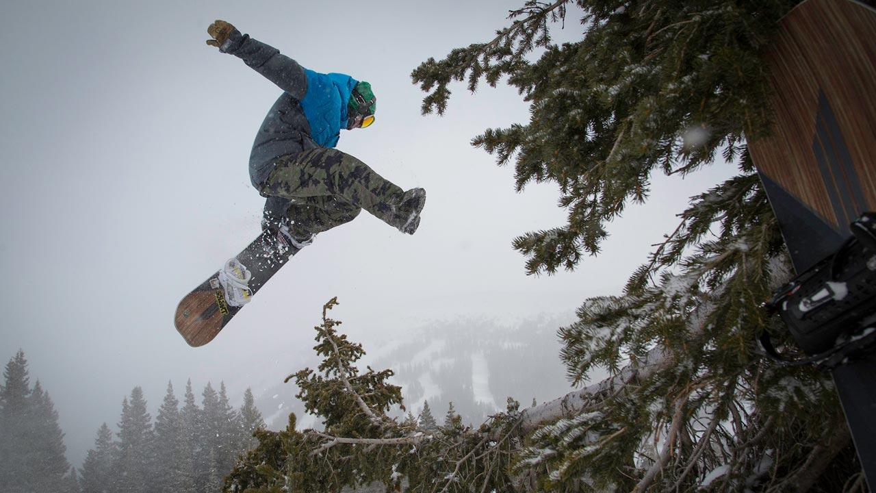 Das Juice im Einsatz |©Sims Snowboards